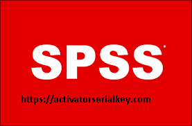 IBM SPSS Statistics 26.0 Crack & Latest version 2020