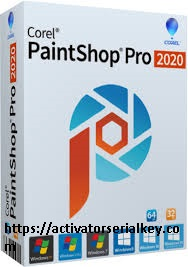 Corel PaintShop Pro crack serial key 2020