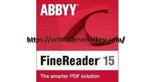 ABBYY FineReader 15 Crack & Full Licence Key