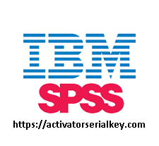 IBM SPSS Statistics 26.0 Crack With Licence Key