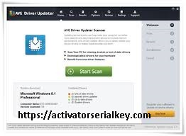 AVG Driver Updater 2020 Crack With Full License Keys