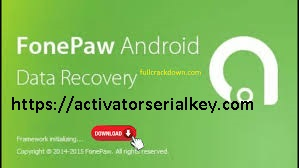 FonePaw Android Data Recovery 3.2.0 Crack With Serial Key 2020