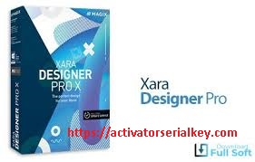 Xara Designer Pro X Crack With Serial Key 2020