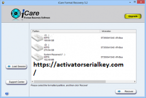 iCare Format Recovery 6.1.8 Crack
