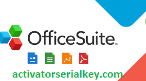 OfficeSuite Crack With Activation Key Free Download 2021